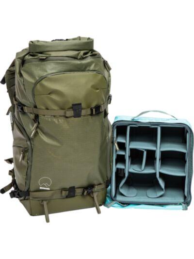 Shimoda Action X50 nahrbtnik Starter Kit - vojaško zelen