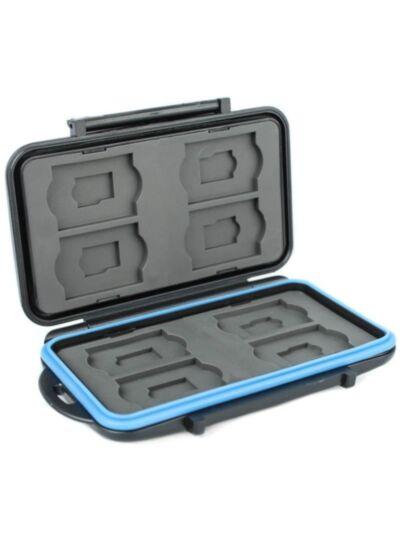 Vodoodporna škatlica za pomnilniške kartice JJC MC-ST16 za 8 SD / Micro SD