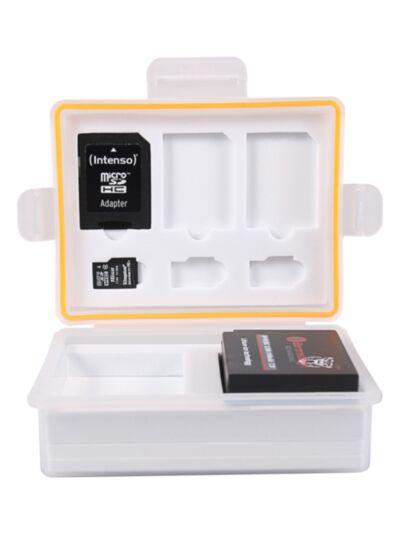 Vodoodporna škatlica za spominske kartice in bateriji (Canon LP-E17, Sony NP-FW50, Fuji NP-126,...) - Patona
