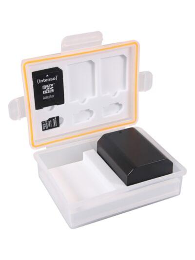 Vodoodporna škatlica za spominske kartice in bateriji (Canon LP-E6, Sony NP-FZ100, Nikon EN-EL15,...) - Patona