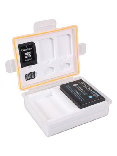 Vodoodporna škatlica za spominske kartice in bateriji (Canon LP-E8, Nikon EN-EL14, Fuji NP-95,...) - Patona
